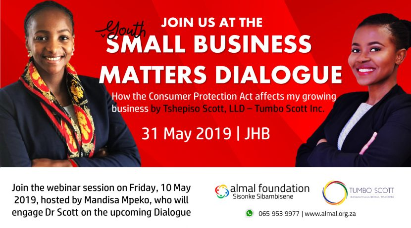 Event banner: Small Business Matters Dialogue